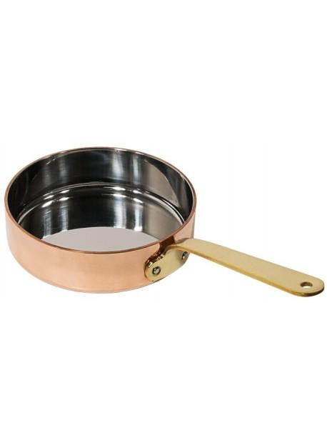 Mini poêle à frire en cuivre