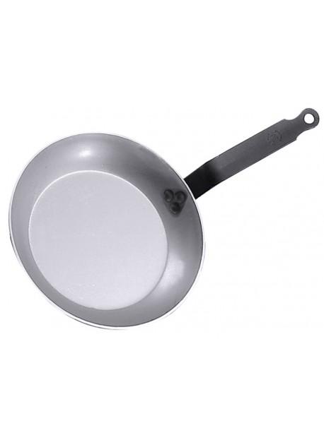 Poêle à frire en fer blanc