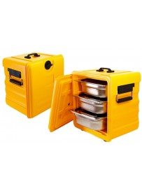 Boîte de stockage thermique GN 1/2 avec ouverture frontale
