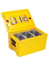 Boîte de stockage thermique GN 1/1 avec ouverture sur le dessus