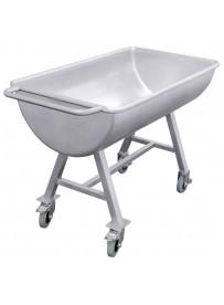 Chariot de nettoyage cylindrique