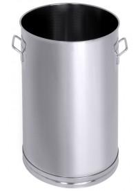 Récipient inox universel 20 à 150 L avec couvercle en option