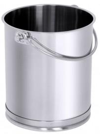 Conteneur cylindrique en inox pour aliments et liquides 10 à 15 L