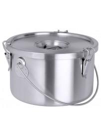 Conteneur isolé en inox pour transport des aliments et liquides 10 à 30 L