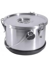 Conteneur isolé en inox pour transport des aliments et liquides 10 L