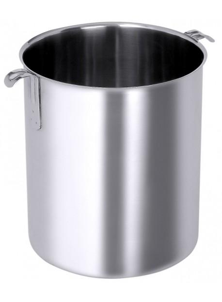 Marmite à bain-marie en inox avec ou sans poignées 1 à 10 L