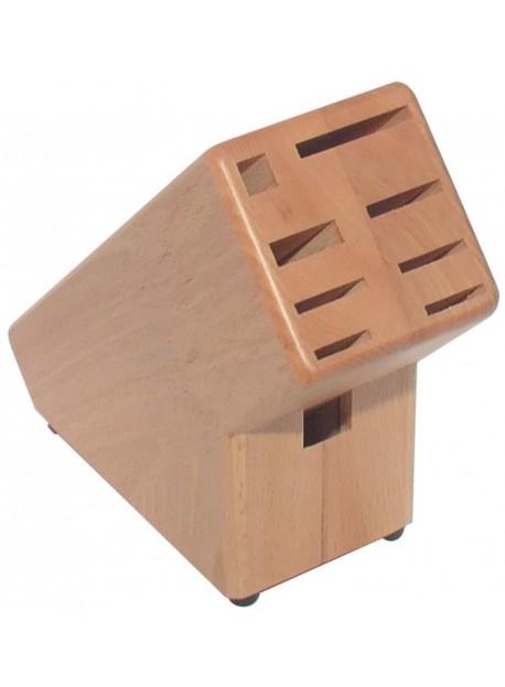 Bloc à couteaux en bois