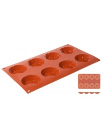 Moule à tartelettes en silicone