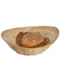 Corbeille à pain ovale en bambou