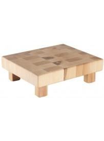 Planche en bois sur pieds