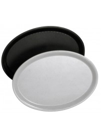 Plateau de service ovale en polyester