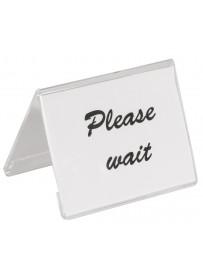 Porte-carte en acrylique