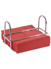 Porte-serviette en fil d'acier chromé de 6 mm d'épaisseur