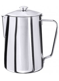 Pichet à café en acier inoxydable 18/10 effet miroir poli