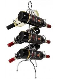 Stand de rangement / présentation bouteilles de vin