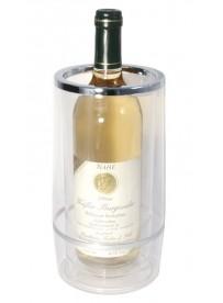 Seau à vin isolé en acrylique