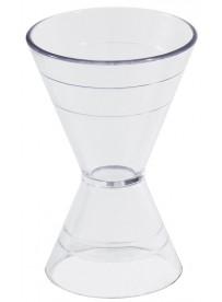 Doseur pour cocktail en polycarbonate