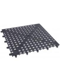 Tapis de bar en PVC noir