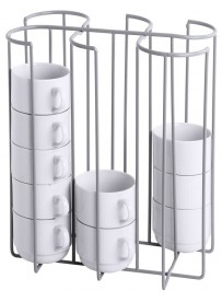 Porte-tasses 6 colonnes