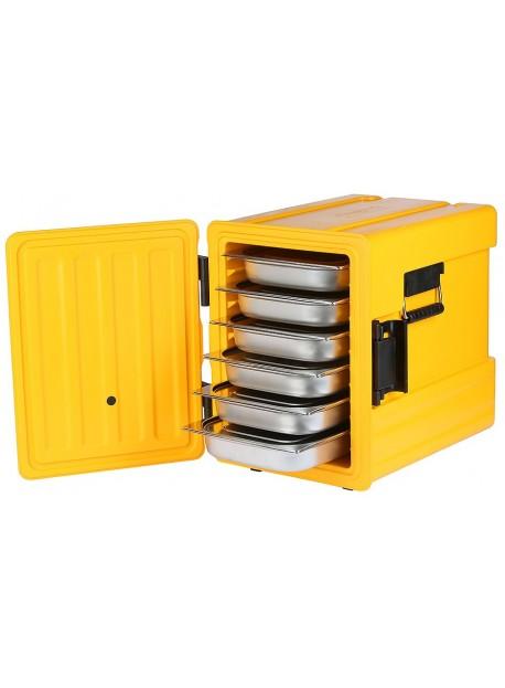 Boîte de stockage thermique GN 1/1 avec ouverture frontale