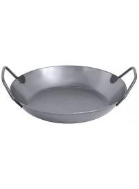 Poêle à paella en acier