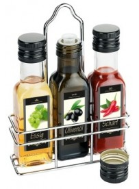 Ménagère 3 pièces huile et vinaigre et sauces