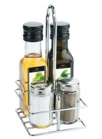 Ménagère 2 pièces huile et vinaigre et sauces