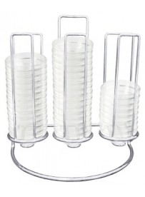 Support pour bols en verre