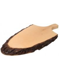 Plateau en bois de frêne avec poignée