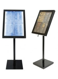 Vitrine d'affichage menus
