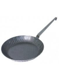 Poêle à frire (version profonde) en fer forgé à froid