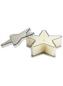 """Emporte-pièces """"étoiles à 5 branches"""""""