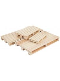 Mini palette en bois pour le service