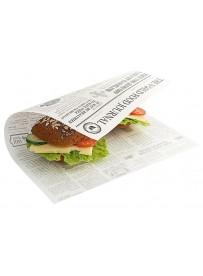 Papier sulfurisé «papier journal»