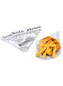 Papier sulfurisé pour cornet de frites